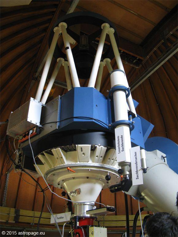 Das 70cm KING Teleskop. (astropage.eu)