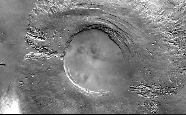 Arsia Mons (Courtesy of NASA / JPL / ASU)