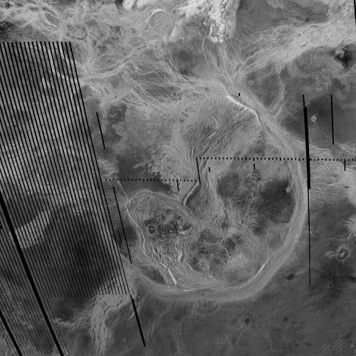 Artemis Corona (Courtesy of NASA / JPL / USGS)