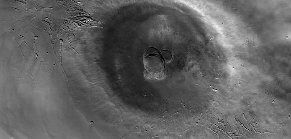 Ascraeus Mons (Courtesy of NASA / JPL / MSSS)