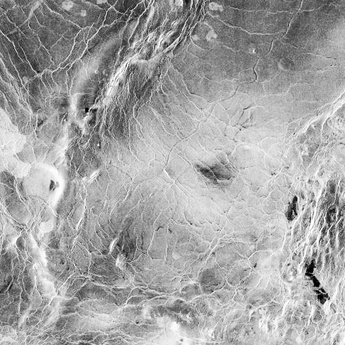 Segment von Baltis Vallis (Courtesy of NASA / JPL)