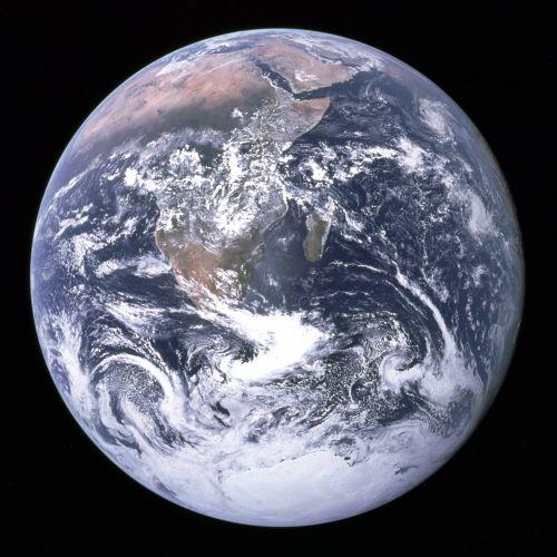 Die Erde (Courtesy of NASA / Apollo 17)
