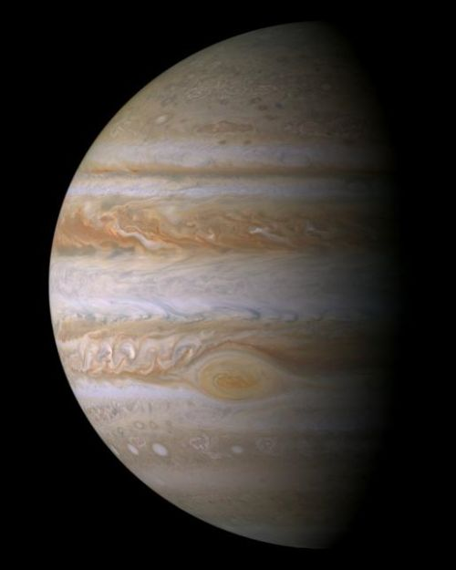 Jupiter (Courtesy of NASA / JPL / Space Science Institute)