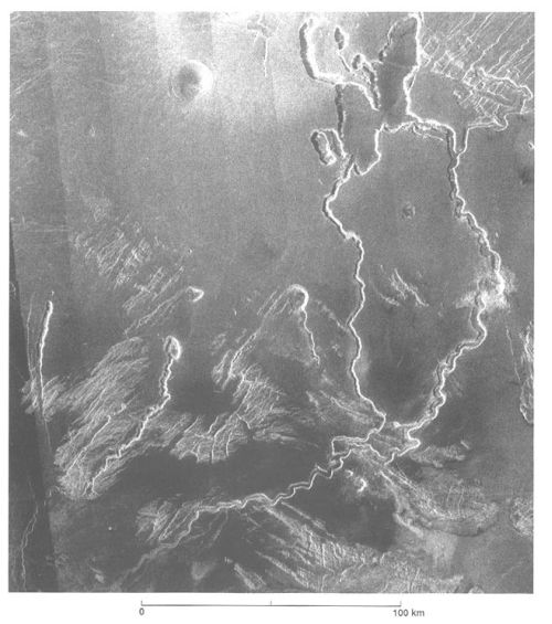 Lavarinnen (Courtesy of NASA / JPL / Magellan)