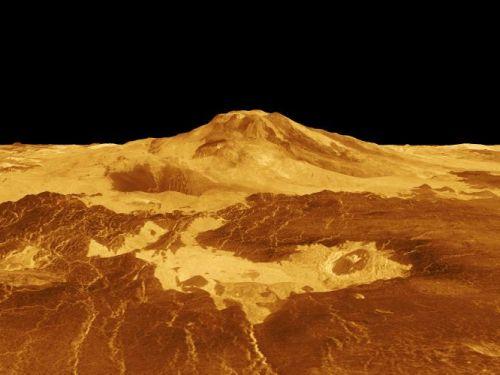 Maat Mons (Courtesy of NASA / JPL)