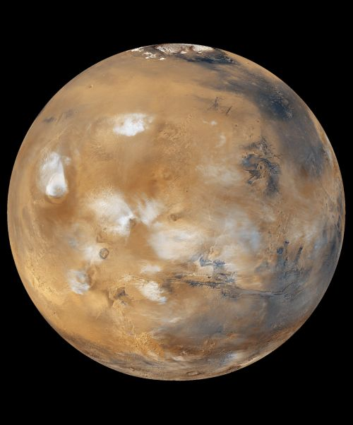Mars (Courtesy of NASA / JPL)