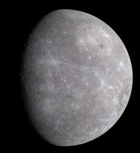 Merkur (Courtesy of NASA / Johns Hopkins University Applied Physics Laboratory / Carnegie Institution of Washington)