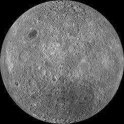 Bild der Mondrückseite. (NASA/Goddard/Arizona State University)