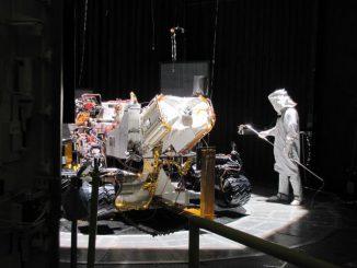 Der Marsrover Curiosity. (NASA/JPL-Caltech)