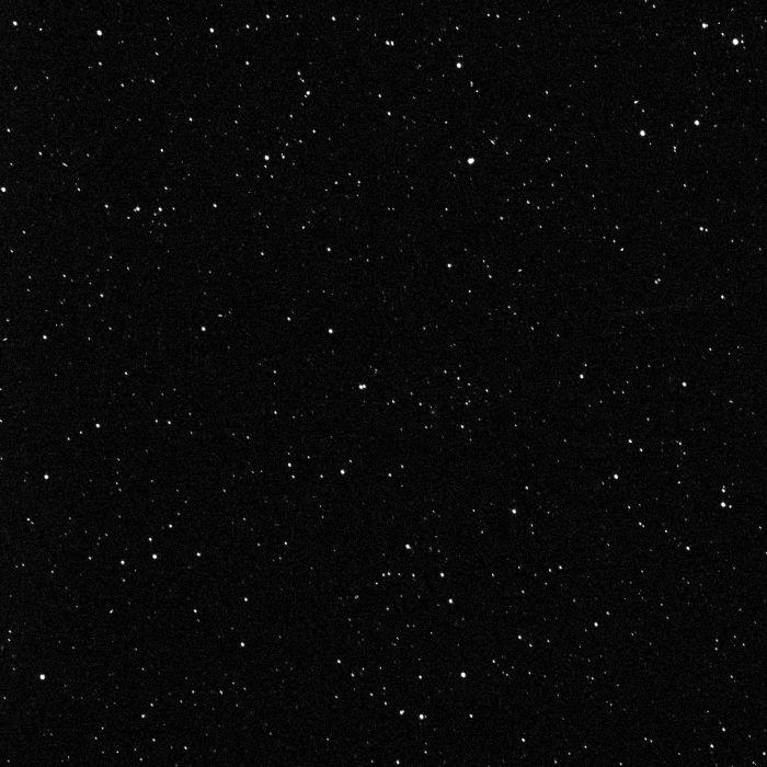Ein Sternenfeld, aufgenommen mit der Framing Camera 2 der Raumsonde Dawn (NASA / JPL-Caltech / UCLA / MPS / DLR / IDA)