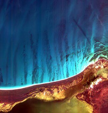 Holbox Island. (ESA / KARI)