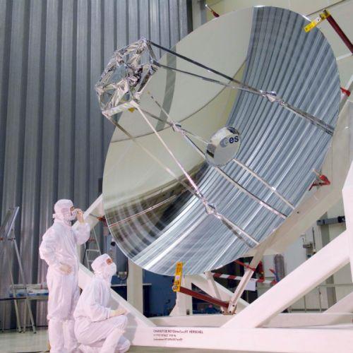 Der Spiegel des Herschel-Observatoriums (ESA)