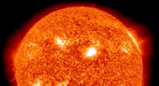 Sonneneruption, aufgenommen vom Solar Dynamics Observatory (SDO / NASA)
