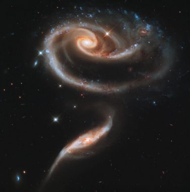 Arp 273 (NASA, ESA, and the Hubble Heritage Team (STScI/AURA))