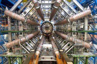 Der ATLAS-Detektor, einer von sechs Detektoren am LHC (Maximilien Brice, CERN)