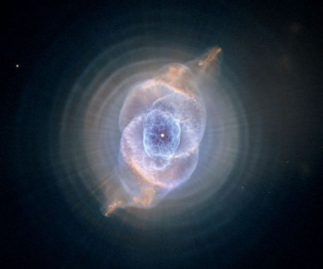Der Katzenaugennebel NGC 6543 (NASA, ESA, HEIC, and The Hubble Heritage Team (STScI/AURA))