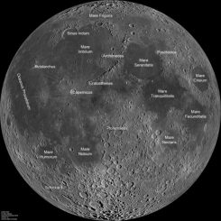 Der Mond (NASA/GSFC/Arizona State University)