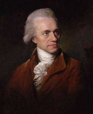 Portrait von Sir William Herschel (1738-1822)