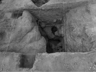 Ein Teil der Ausgrabungsstätte (Copyright: Current Anthropology: UC Press)