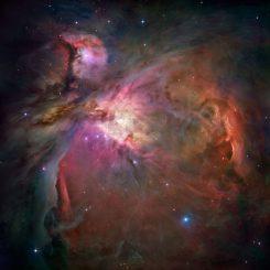Der Orionnebel. (NASA)