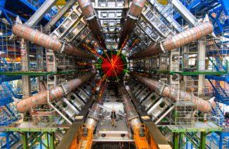 Ein Teil des ATLAS Experimentes (ATLAS Experiment Copyright 2011 CERN)