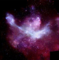 Chandra-Mosaik des Carina-Nebels (NASA/CXC/PSU/L.Townsley et al.)