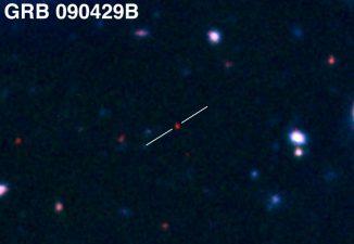 Gammablitz GRB 090429B (Gemini Observatory / AURA / Levan, Tanvir, Cucchiara)