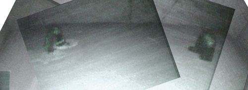 Ein Komposit der Rückseite des ersten Steinblicks mit den Metallhaken (Djedi Team)
