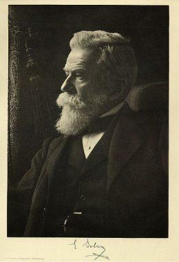 Ernest Solvay, der Mäzen der Solvay-Konferenzen