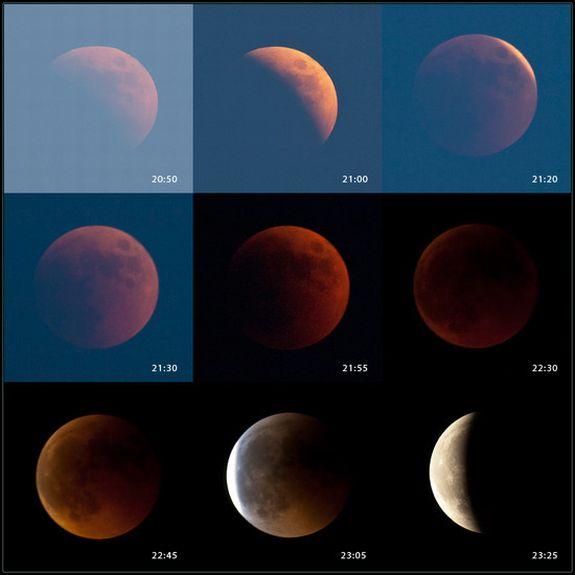 Totale Mondfinsternis vom 15. Juni 2011 / Koprivnica, Kroatien (Marko Posavec)