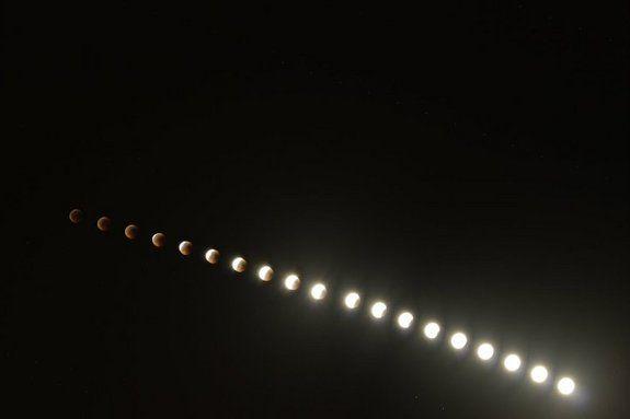 Totale Mondfinsternis vom 15. Juni 2011 / Dubai, Vereinigte Arabische Emirate (Jeet Raval)