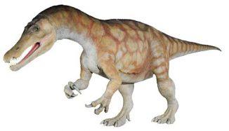 Darstellung eines Baryonyx (Natural History Museum)