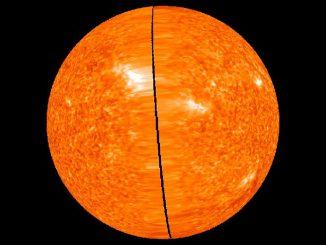 STEREO-Aufnahme der Sonne. (NASA)