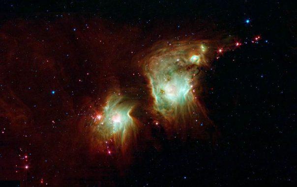 Die Sternentstehungsregion Messier 78 im Sternbild Orion (NASA / JPL-Caltech)