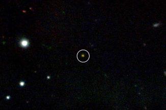 GRB 090423 (Gemini Observatory / NSF / AURA, D. Fox & A. Cucchiara (Penn State U.), and E. Berger (Harvard Univ.))