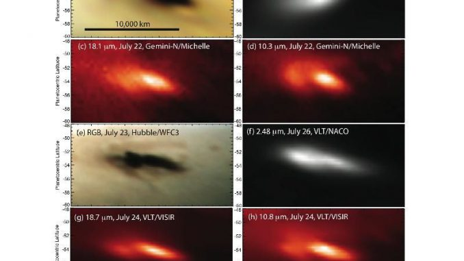 Credit: NASA/JPL-Caltech/IRTF/STScI/ESO/Gemini Observatory/AURA/A. Wesley