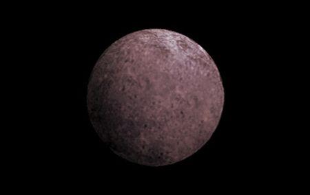 """Künstlerische Darstellung des Zwergplaneten 2007 OR10 (""""Snow White"""") (NASA)"""