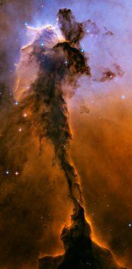 Ein Ausschnitt des Adlernebels (NASA, ESA, and The Hubble Heritage Team (STScI/AURA))