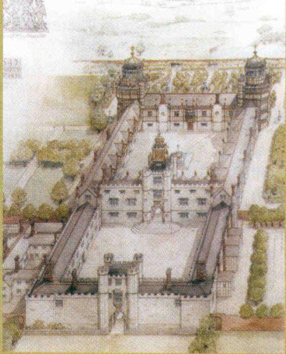 Zeichnung von Nonsuch Palace (The Friends of Whitehall 2007)