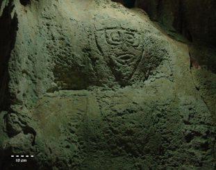Petroglyphen in Ost-Timor. (John Brush)
