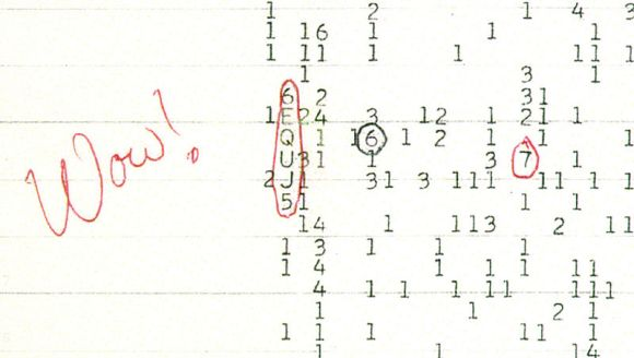 "Das ""Wow!""-Signal (Ohio State University)"