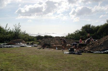 Foto einer Ausgrabungsstätte des Projekts (University of Liverpool)