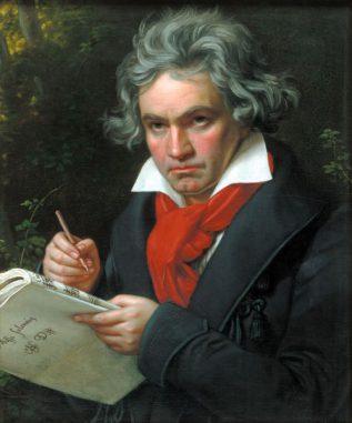 Joseph Karl Stielers Portrait von Beethoven aus dem Jahr 1820 (Beethoven-Haus Bonn)