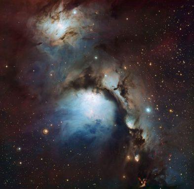 Der Reflexionsnebel M78. (ESO and Igor Chekalin)