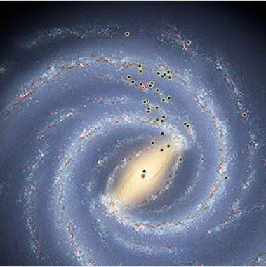 M. Reid, Harvard-Smithsonian CfA; R. Hurt, SSC/JPL/Caltech, NRAO/AUI/NSF