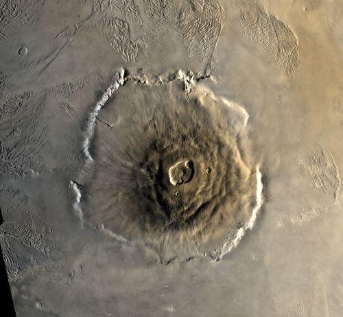 Olympus Mons (Courtesy of NASA / USGS)