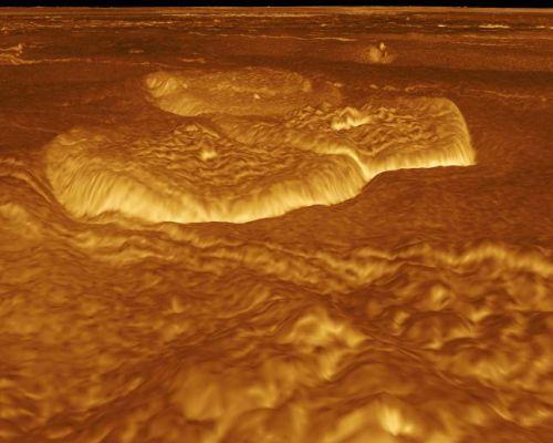 """Pfannkuchen-Kuppeln"" (Courtesy of NASA / JPL)"