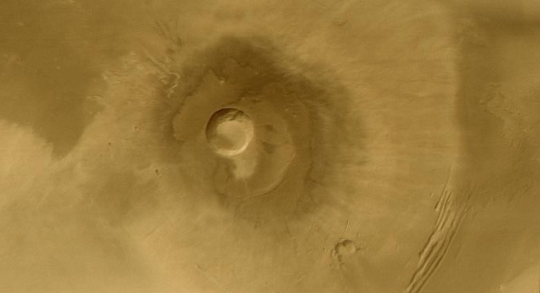 Pavonis Mons (Courtesy of NASA / JPL / Malin Space Science Systems)