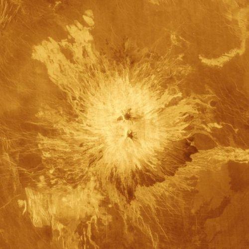 Sapas Mons (Courtesy of NASA / JPL)