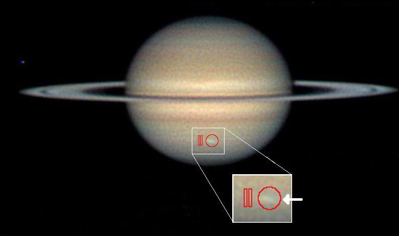 Sturmsystem auf Saturn (Courtesy of Christopher Go / NASA / JPL-Caltech / GSFC)